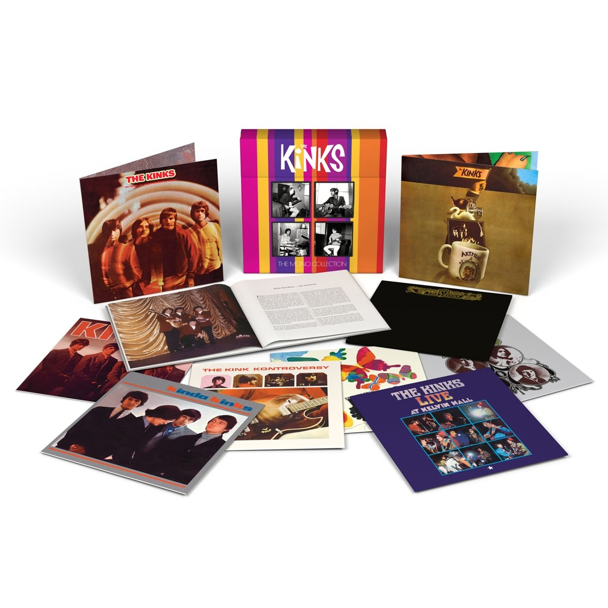 The Mono Collection (Limited Edition, 10-LP, 180 Gram Vinyl Box Set)