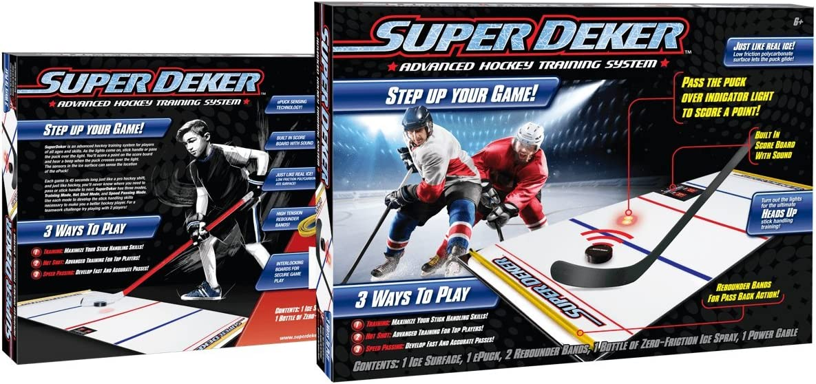 """SuperDeker Advanced Ice Hockey Training System 