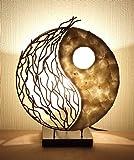 Lampe de table asiatique Yin Yang (LA12-92/S), lampe design, lampe à pied, lampe poétique, design decoratif, accessoires Bali
