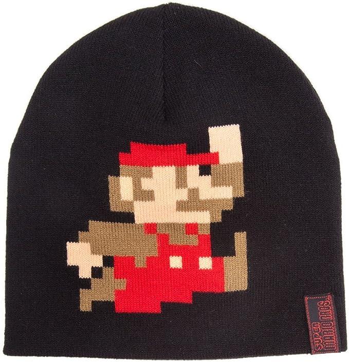 Bricks logo Super Mario beanie for adults