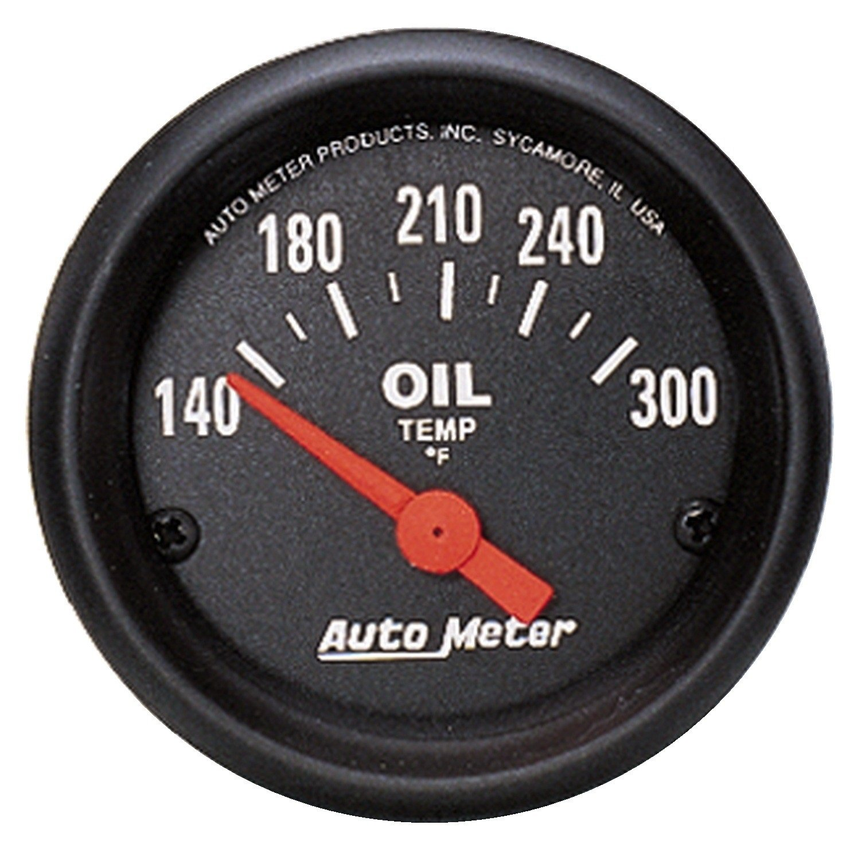 Amazon.com: Auto Meter 2639 Z-Series Electric Oil Temperature Gauge ...