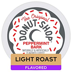 The Original Donut Shop Peppermint Bark Coffee, 12 K-Cup Pods