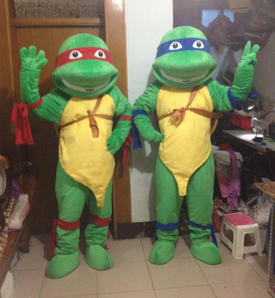 Amazon com: JWUP Teenage Mutant Ninja Turtle Mascot Costume