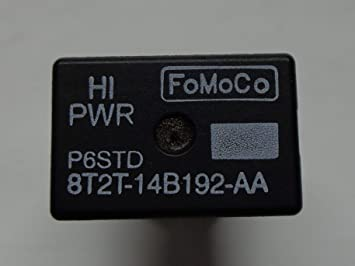 5PC For Ford For FoMoCo 4 Pins #OEM Relay 8T2T-14B192-AA Hight Power Relay 8T2T14B192AA 8T2T 14B192 AA 8T2T14B192-AA O101K