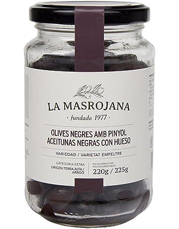La Masrojana, Aceitunas (Negras de aragón) - 220 gr.