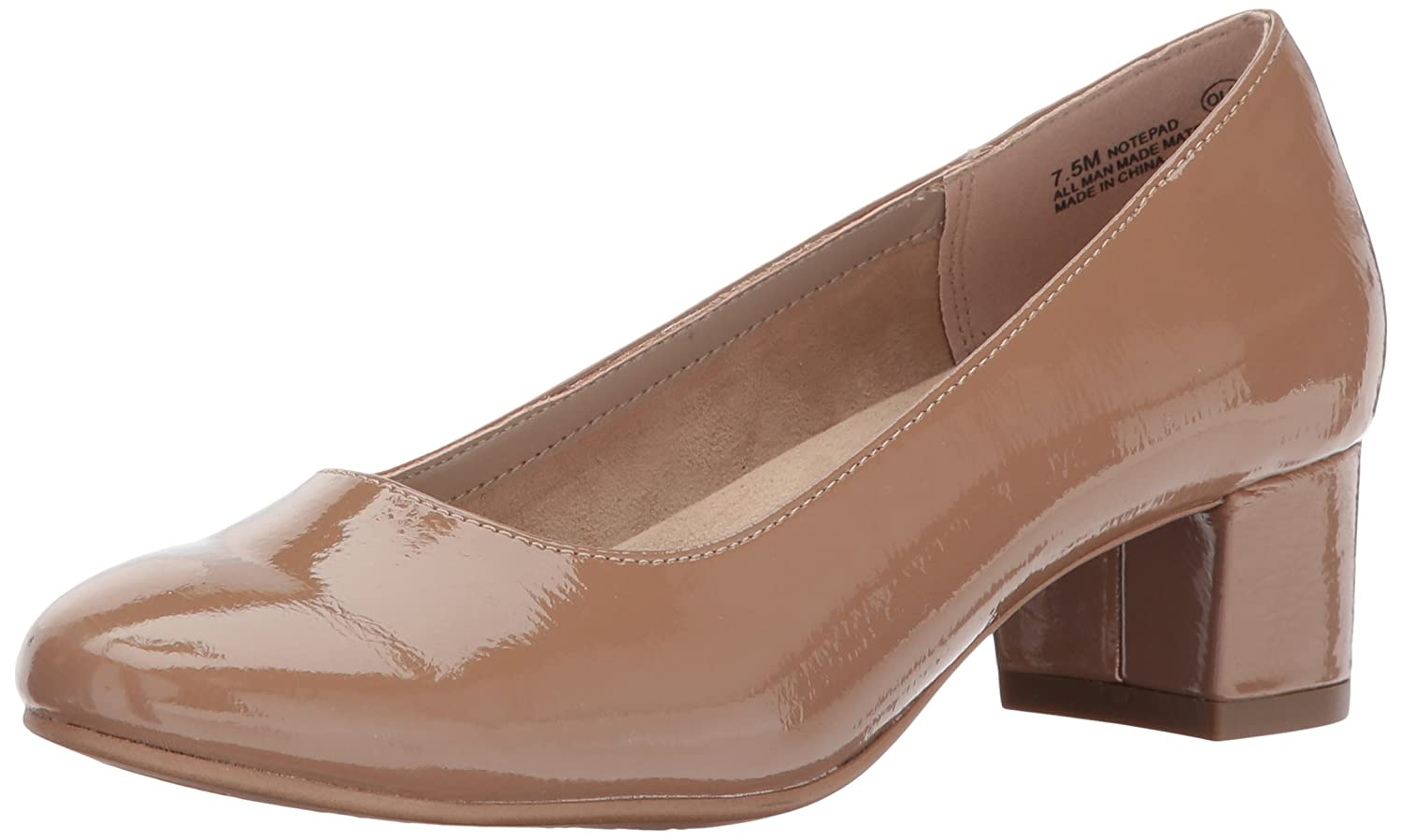 Aerosoles A2 by Women's Notepad Dress Pump B06Y4BHD8C 12 M US|Nude Patent