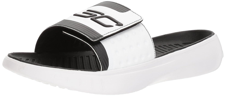 2ba79c54c484 Amazon.com  Under Armour Men s Curry IV Slide Sandal  Shoes