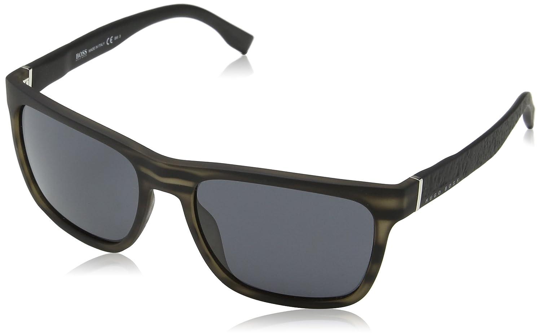 BOSS Hugo 0918/S IR 2Q5 56 Gafas de Sol, Gris (Greyhornblck Grey), Hombre