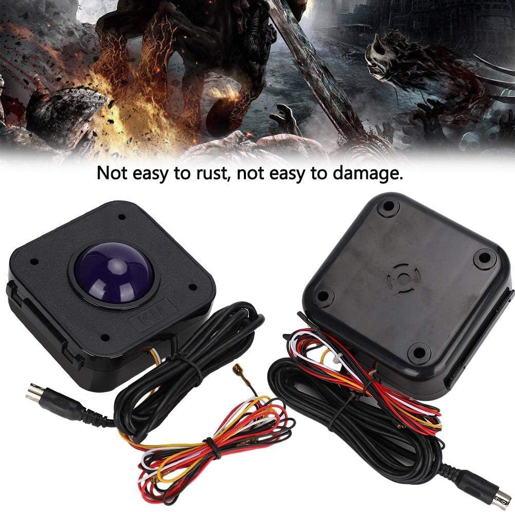 PS2 to USB Adapter Digitalkey Arcade Trackball 4.5cm Diameter with PS2 Connector