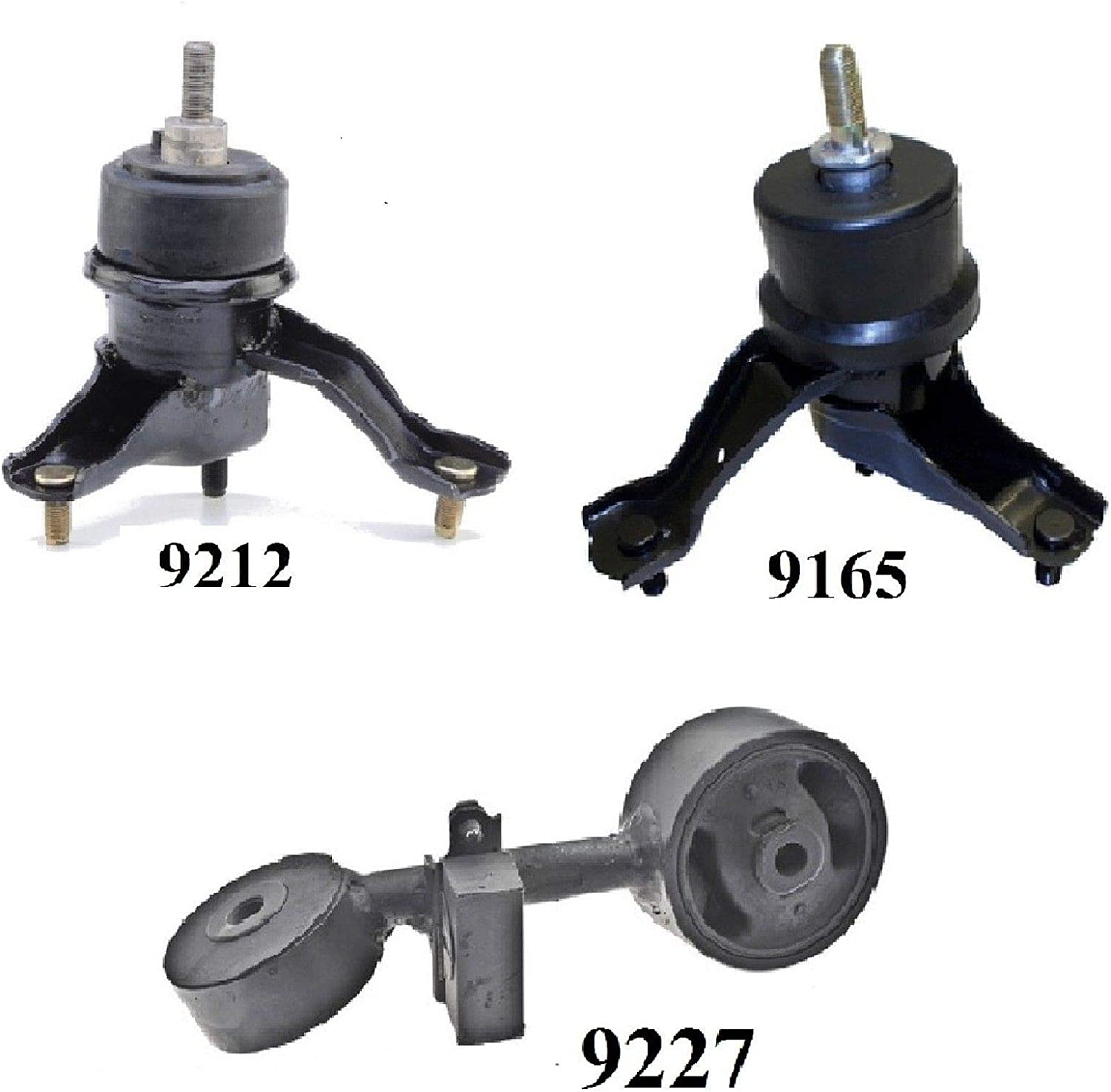 8USAUTO 2PCS Front Motor Mount FIT 1988-1997 Ford Ranger 2.3L ...