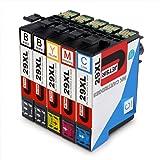 JETSIR 29XL Cartucce Compatibili epson 29 XL per Epson XP-342 XP-245 XP-442 XP-332 XP-432 XP-345 XP-247 XP-235 XP-335 XP-435 XP-255 XP-352 XP-355 XP-452 XP-455 (2 Nero,1 Ciano,1 Magenta,1 Giallo)