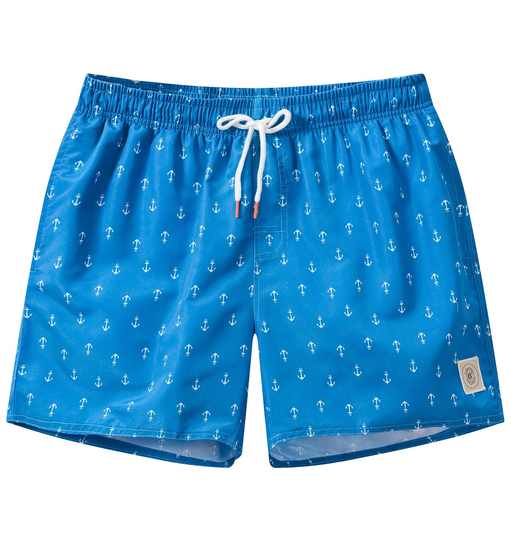 Tyhengta Mens Swim Trunks Quick Dry Printed Swim Shorts for Men X-Large