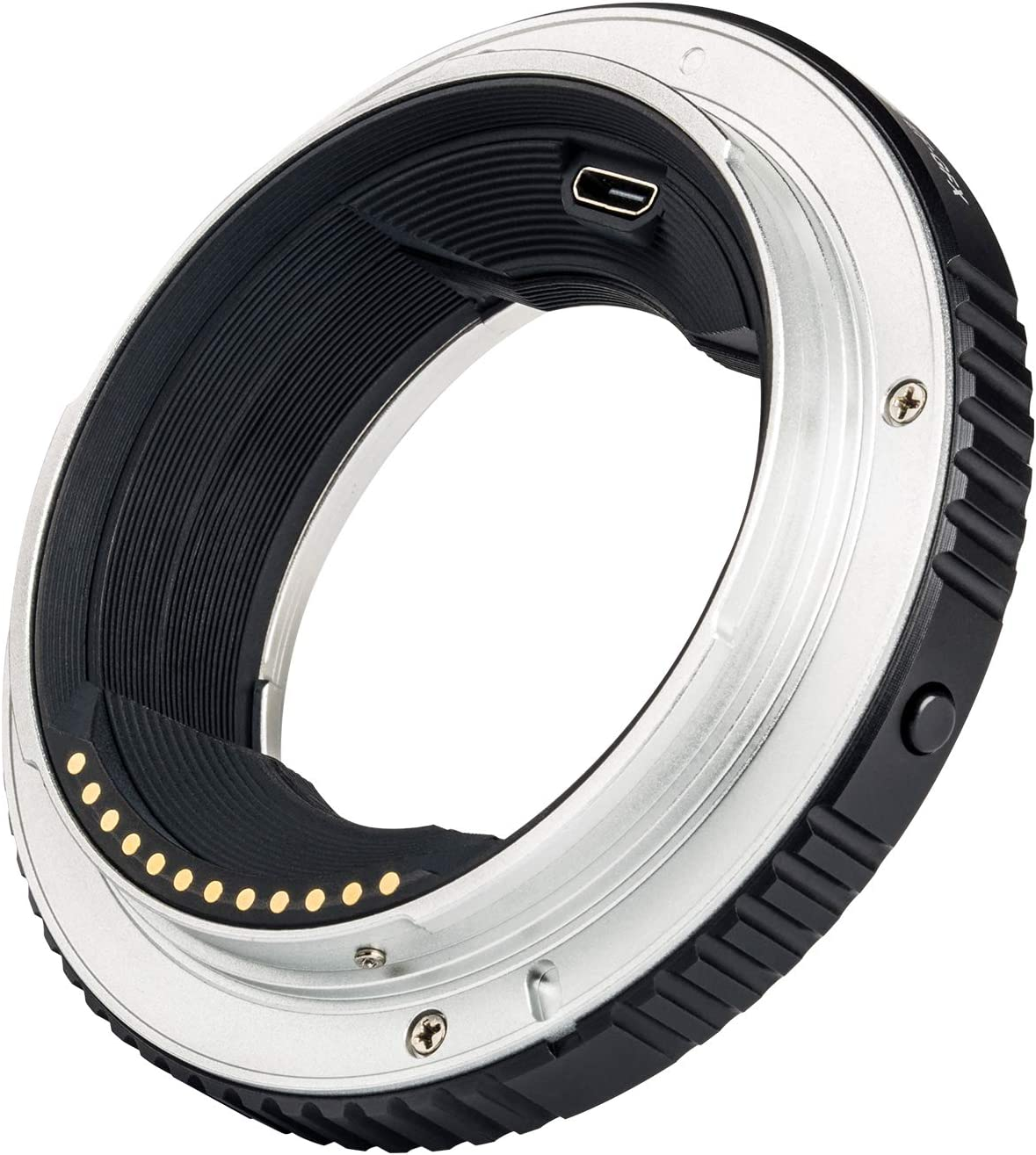 Auto Focus Lens Mount Adapter for Canon EF Mount Lens to Canon EOS-M Mirrorless Camera M2 M3 M5 M6 M10 M50 M100 EF-M Mount