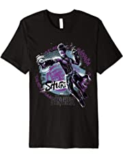 Marvel Black Panther Movie Shuri Graffiti Graphic T-Shirt