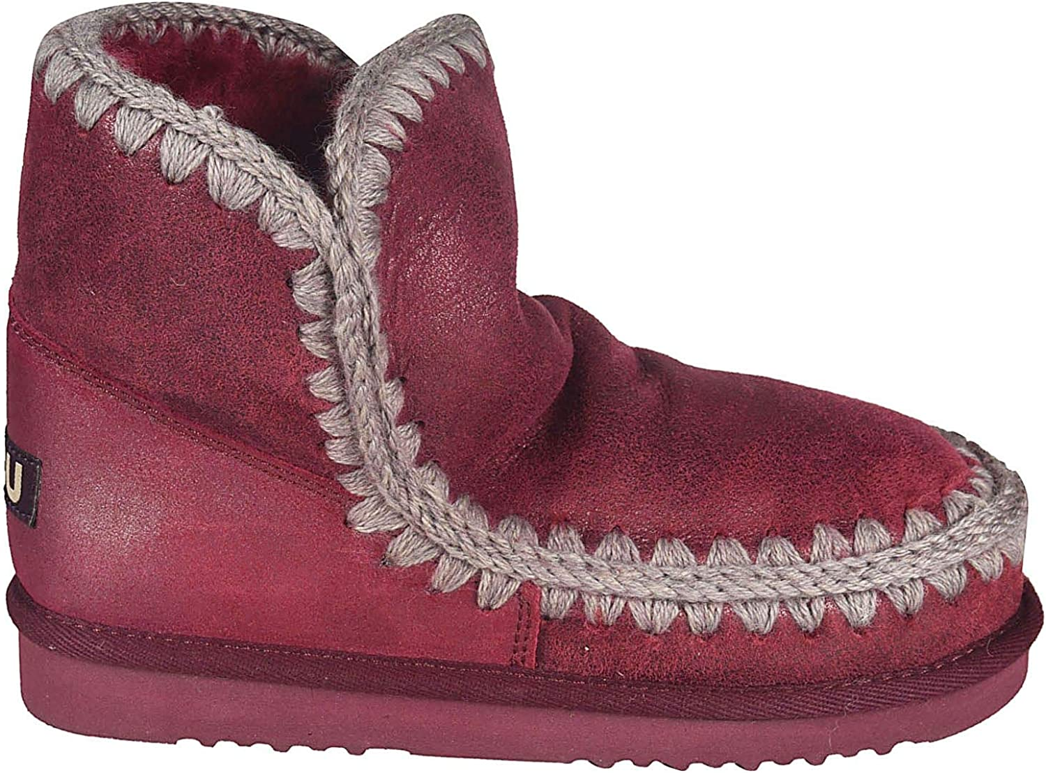 Mou Luxury Fashion Womens ESKIMO18RED Red Ankle Boots | Fall Winter 19 71wJxkSQEELUL1500_