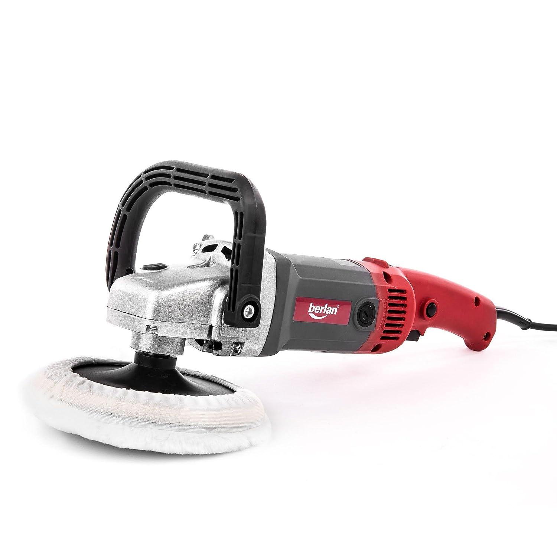 Berlan Lucidatrice angolare elettrica 1200 W 180 mm Levigatrice Lucidatore per auto macchina
