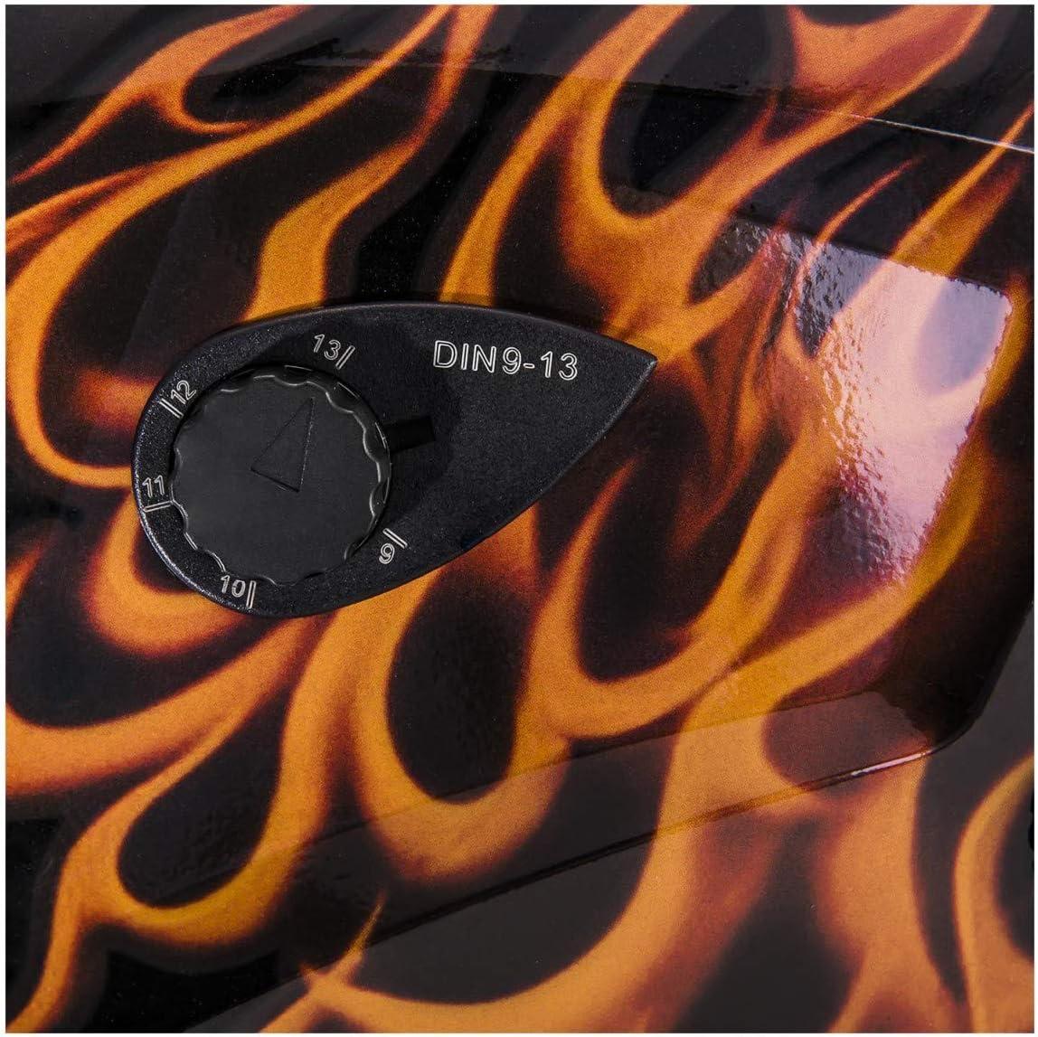 Distancia ajustable Protecci/ón DIN 9-13 Firestarter 500 Careta de soldar Stamos Germany