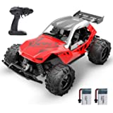 DEERC Remote Control Car High Speed RC Racing Cars 20 KM/H, 2.4 GHZ Fast Toy Car for Kids, 2 Rechargeable Batteries for…