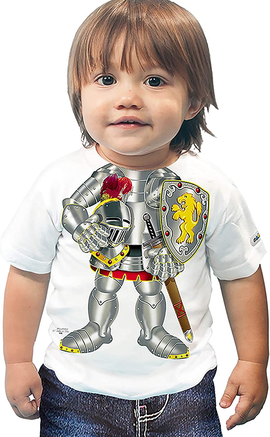 Just Add A Kid 575 Knight Toddler Shirt