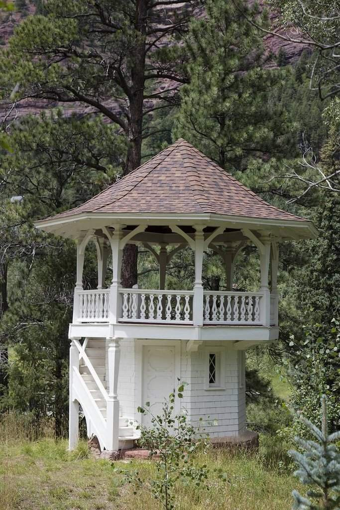 Photograph | Observation tower (and once likely a playhouse) outside Redstone Castle, also known as Cleveholm Manor| Fine Art Photo Reporduction 44in x 66in
