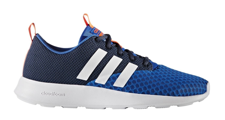 28d1e39e3488d3 adidas Men s Trainers Cloud Foam Swift Racer LMT Blue White Orange   Amazon.co.uk  Sports   Outdoors