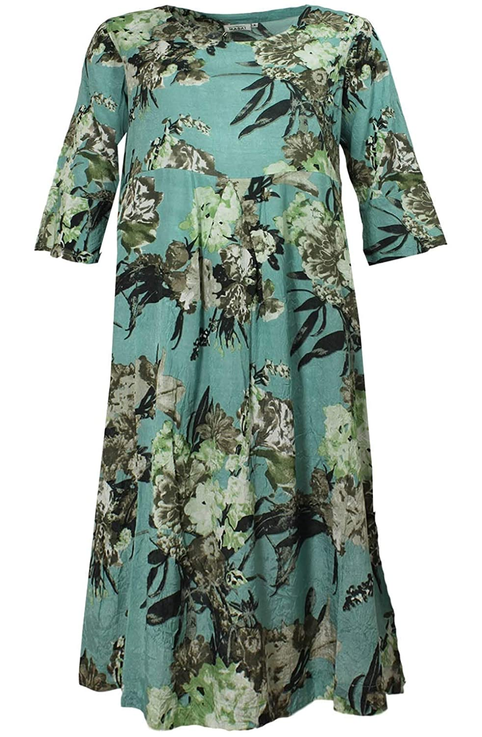 dfc6dbc9269 Masai Clothing Nunni Floral Dress M Mineral: Amazon.co.uk: Clothing