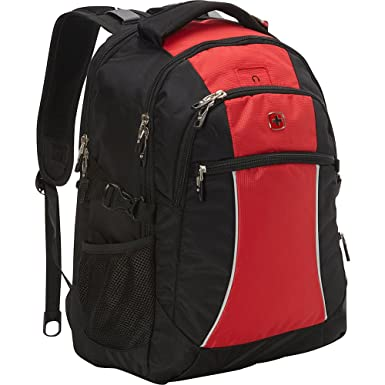 Amazon.com: SwissGear Travel Gear Laptop Backpack 6688 (Red Course ...