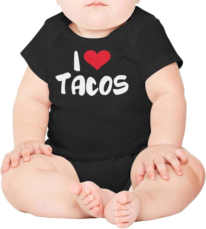 Baby Onesies I Love Tacos 100/% Cotton Bodysuits Super Power Short Sleeve Bodysuit