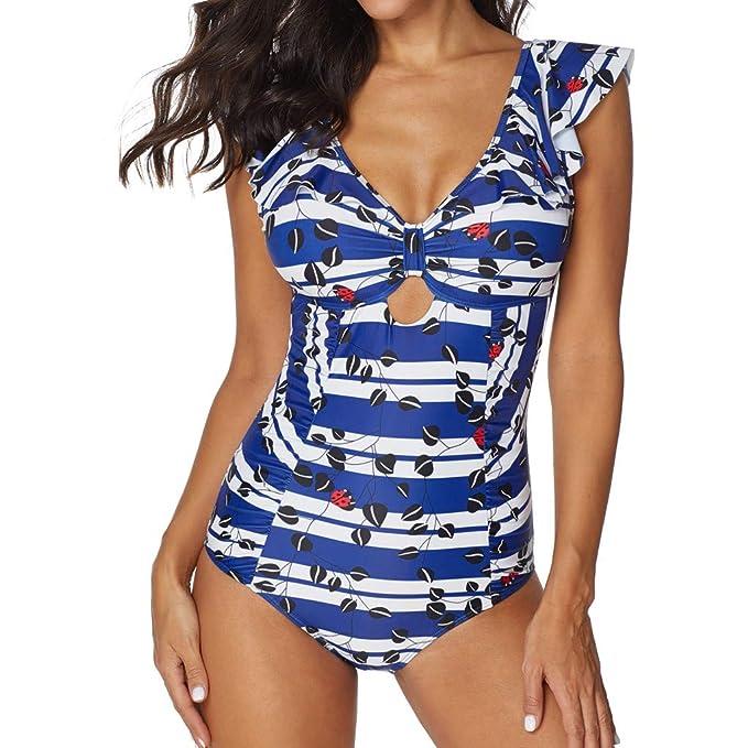 premium selection 4d1cb 1aba8 VEMOW Heißer Elegante Damen Badeanzüge Siamese Bikini Set ...