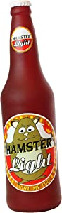 Silly Squeakers – Beer Bottles - Dog Toy - 100% Vinyl. Made Durable & Strong. Novelty Play Toy. 14 Bottles to Choose from and it Floats