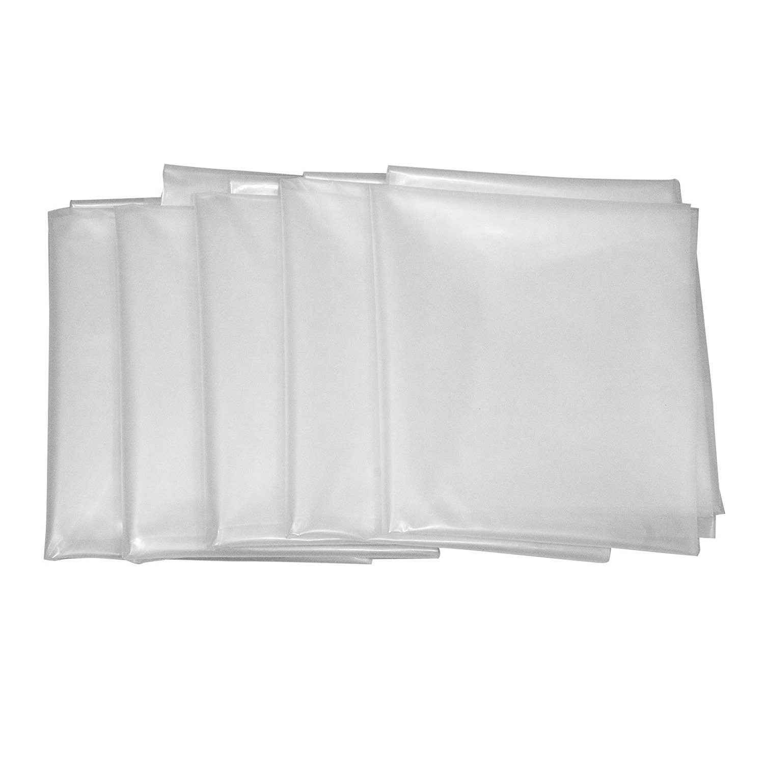 Peachtree 11501 Clear Plastic Dust Collector Bag 5 Pack 20'' Diameter