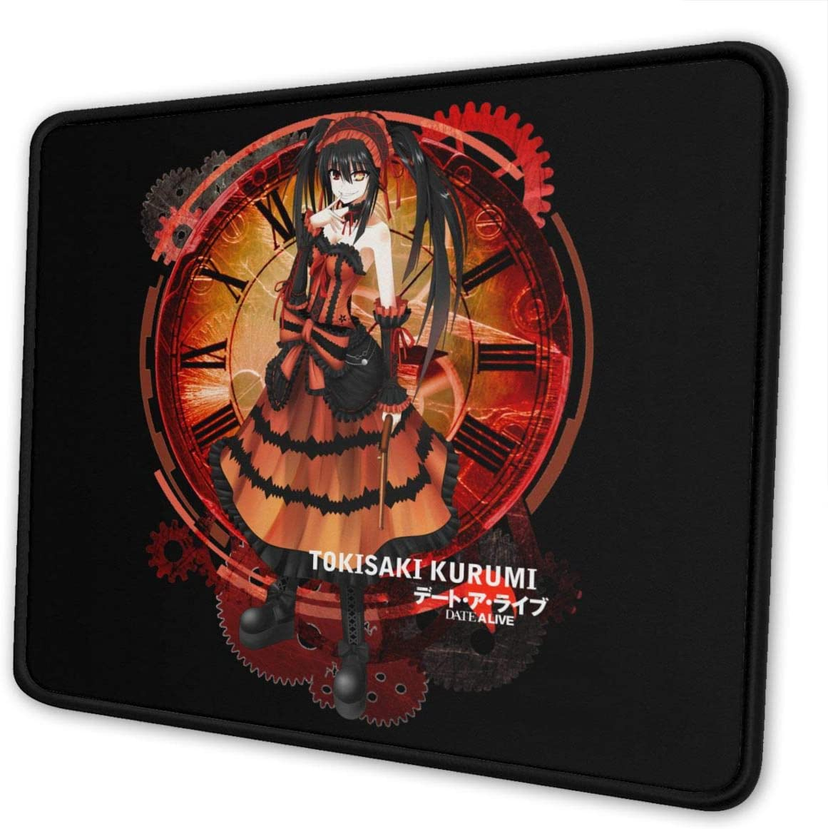 Design Mouse Pad Non Slip Anime RWBY Team Gaming Mouse Pad with Stitched Edge Computer PC Mousepad Neoprene Base for Office Home