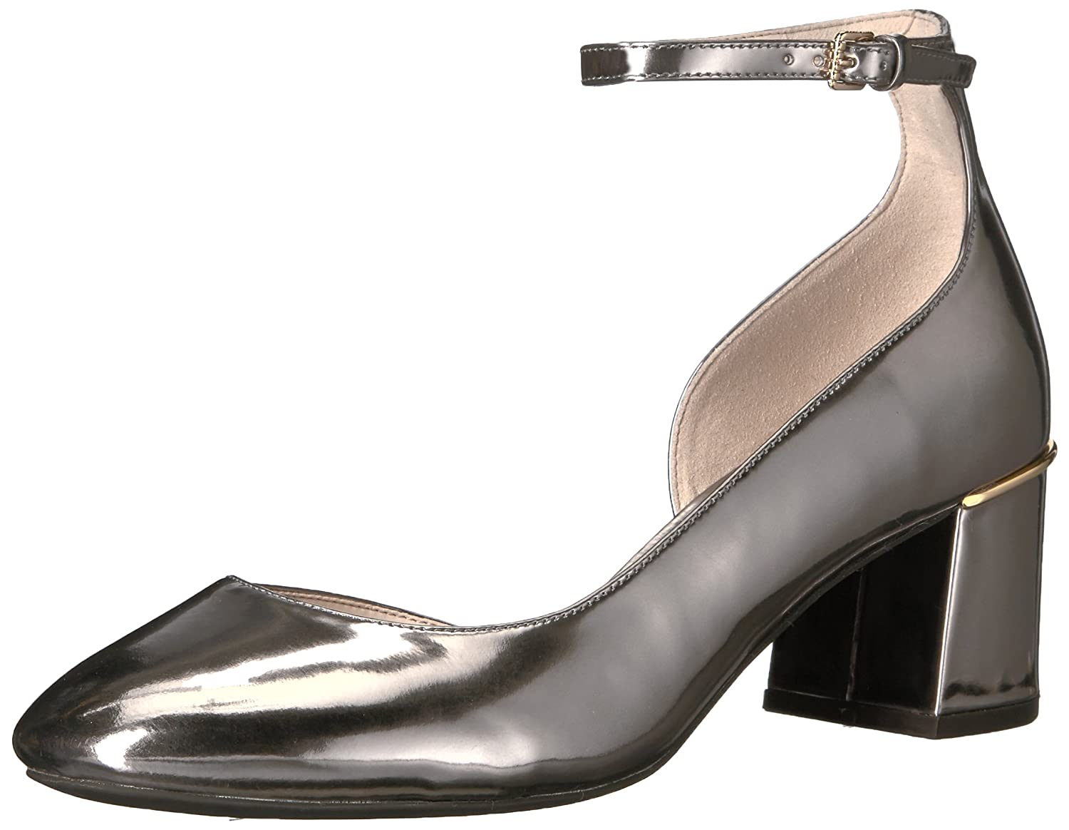 Cole Haan Women's Warner Grand Pump 55MM B0716YB663 6 B(M) US|Pewter Metallic