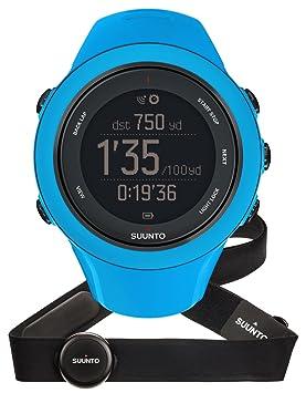 Suunto - Ambit3 Sport HR - SS020679000 - Reloj GPS Multideporte + Cinturón de frecuencia cardiaca (Talla M) - Sumergible 50 m - Azul: Amazon.es: Deportes y ...