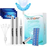 Teeth Whitening Kit Professional, OUZIGRT Teeth Whitening Kit with Led Light Without Sensitivity, 3 Teeth Whitening Pens…