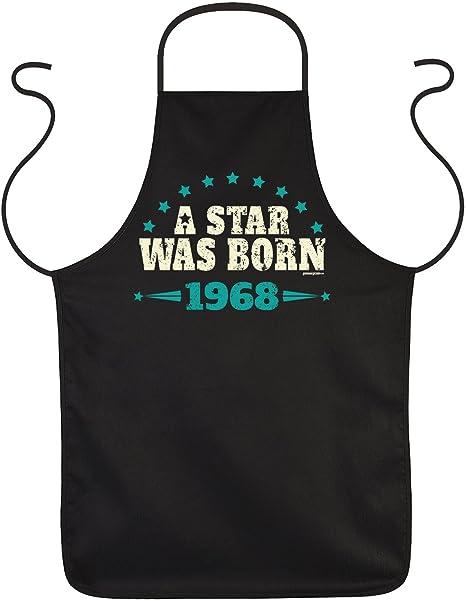 50 birthday sayings apron gift idea apron vintage 1968 50 years