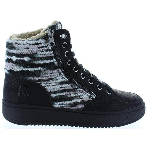 MTNG Botines de Mujer 69670 Posit Negro, 41: Amazon.es: Zapatos y complementos