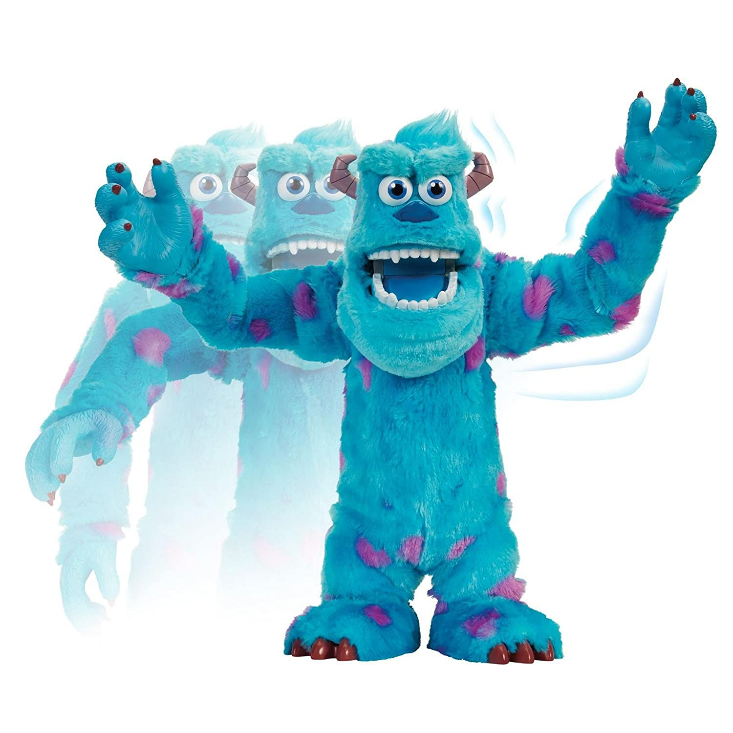 Amazon spinmaster monsters university scare off sulley amazon spinmaster monsters university scare off sulley interactive plush toys games voltagebd Gallery