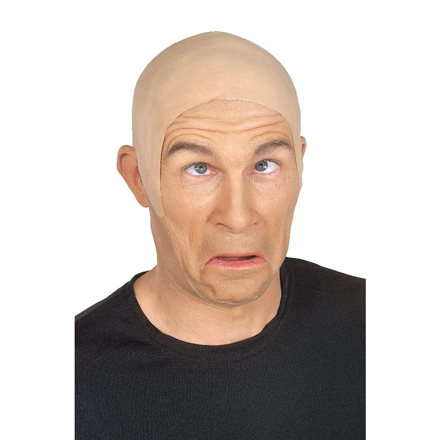 Bald Head Cap Latex Flesh