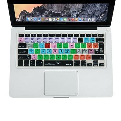 Cubierta de teclado XSKN para Logic Pro X 10 (inglés) Atajos Teclado ...