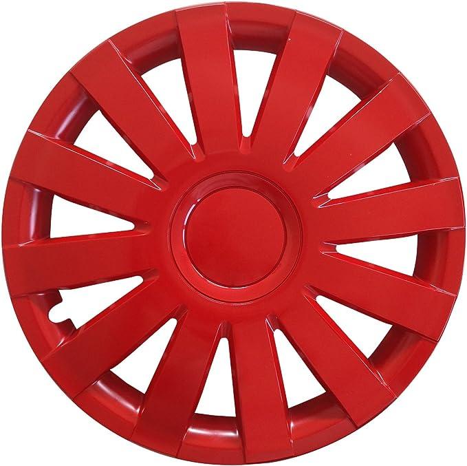 Autoteppich Stylers Farbe Und Größe Wählbar 15 Zoll Radkappen Agat Rot Auto