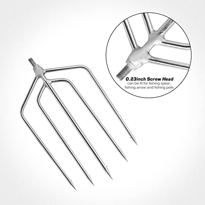 Stainless steel fishing harpoon made in Japan