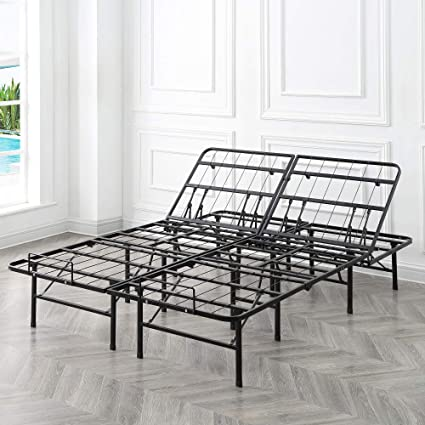 new styles 39282 5f5cd Classic Brands Hercules Heavy-Duty Adjustable Platform 14-Inch Metal Bed  Frame | Mattress Foundation or Box Spring, California King