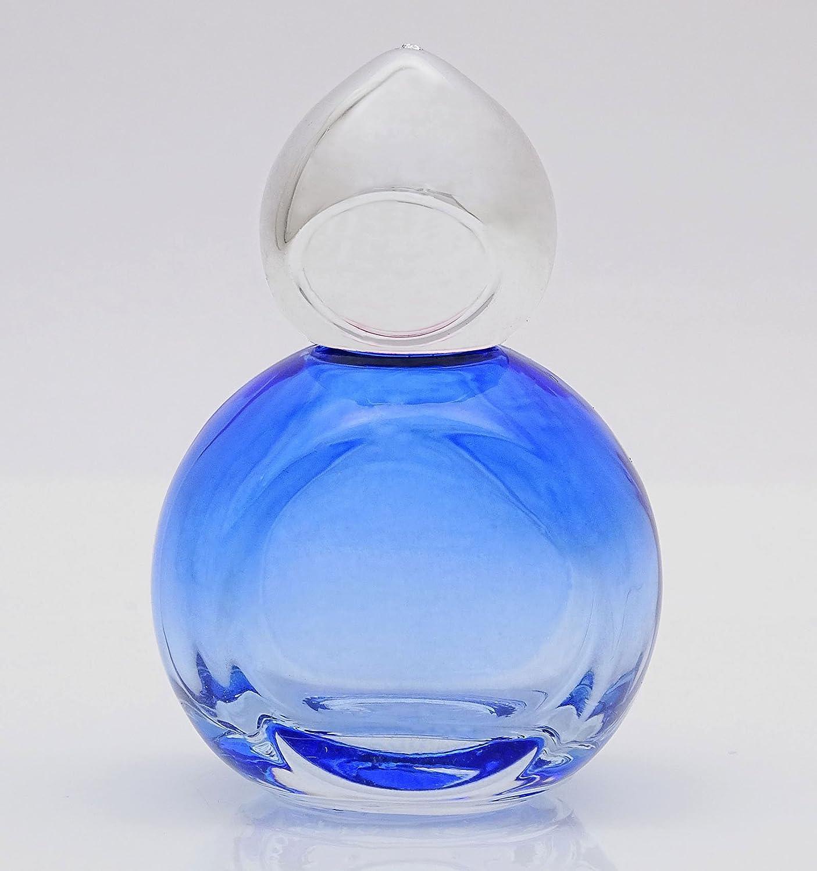 2 unidades x 10 ml vacías azules Cristal Großhandel nachfüllbare de botellas de Roll On Roller Botella: Amazon.es: Belleza