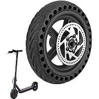 ELKATECH | Xiaomi Scooter M365 Solid Däck med nav och bromsskiva för elektrisk skoter | Anti-punkteringshjul för vuxna…