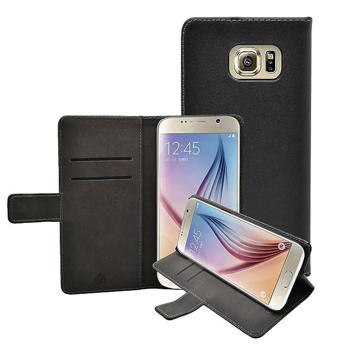 1 opinioni per Membrane Custodia Compatibile con Samsung Galaxy S7 Portafoglio- Nero PU Pelle