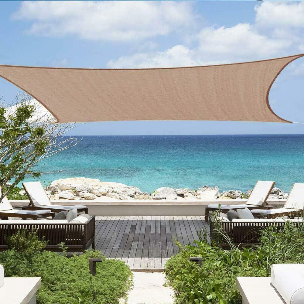 Savage Island Sun Shade Sail Garden UV Block Patio Outdoor Canopy Awning