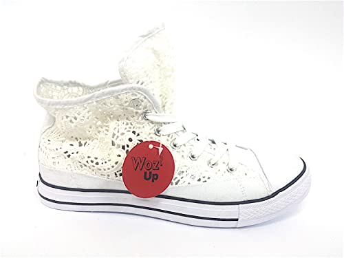 sneakers tipo converse donna pizzo