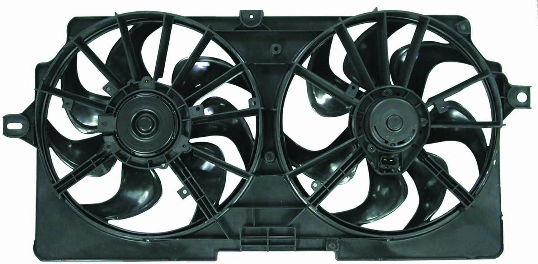 Depo 336-55009-000 Dual Fan Assembly