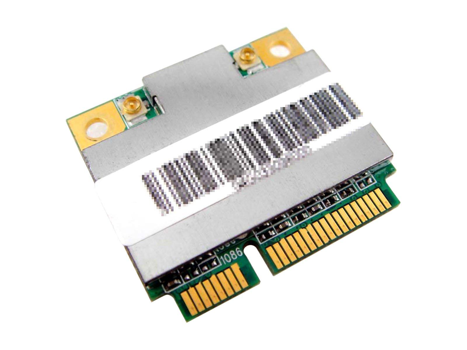 Qualcomm / Atheros AR9485 AR5B225 Half Mini PCIe PCI-Express WLAN WiFi Wireless BT Bluetooth Card for HP compaq Laptop 654825-001 655795-001